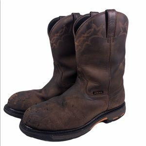ARIAT..Men's Workhog Waterproof Composite Boots